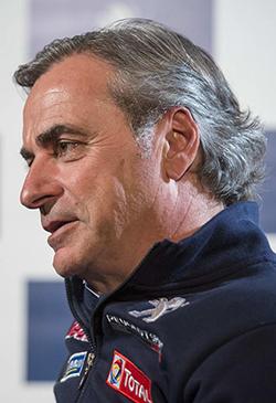 Carlos Sainz-Peugeot Dakkar 2016