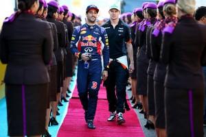 Formula1Daniel Ricciardo-Daniil Kvyat