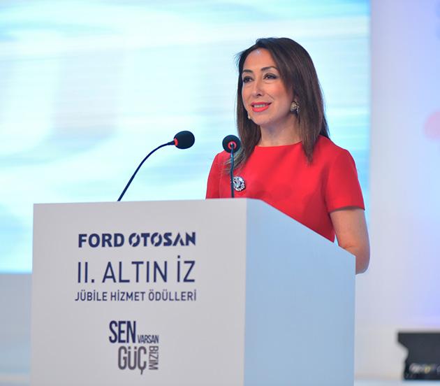 Ford Otosan İnsan Kaynakları Direktörü Nursel Ölmez Ateş