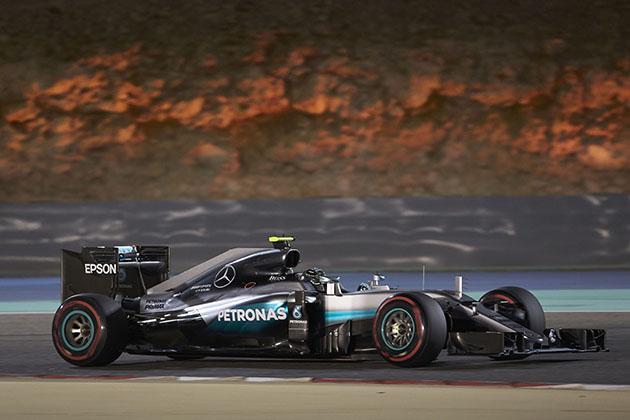 Mercedes pilotu Nico Rosberg