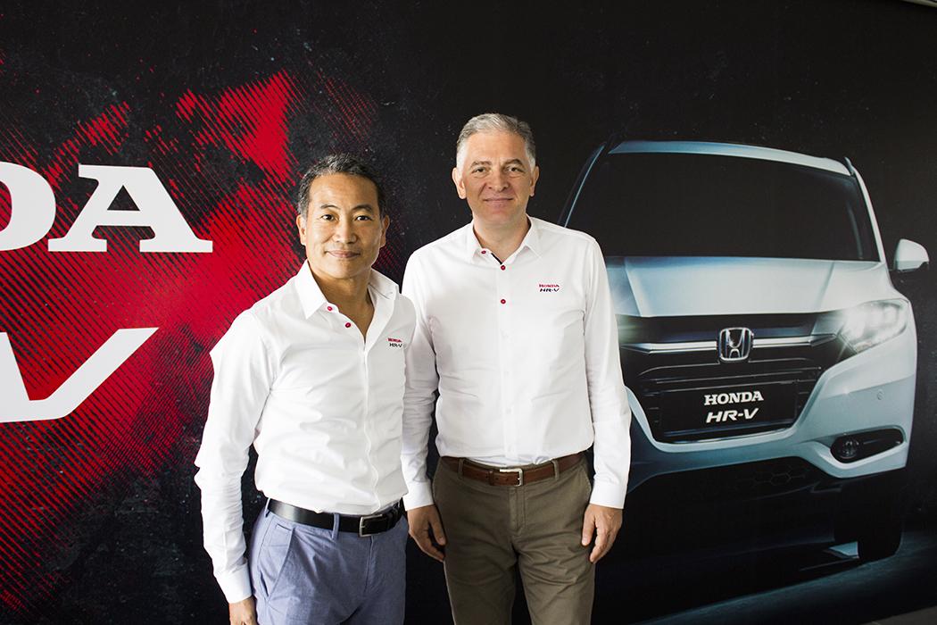 Honda Türkiye Başkanı Hideto Yamasaki-Honda Türkiye Başkan Yardımcısı ve Yönetim Kurulu Üyesi İsmail Sümer