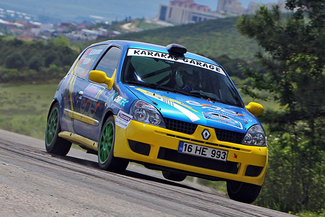 Kategori 2 birincisi:BC Vision Motorsport adına Renault Clio Ragnotti ile yarışan Hakan Ertarman