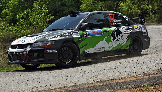 GP Garage My Team adına Mitsubishi Lancer EVO IX ile yarışa Antalya'dan katılan Okan Tanrıverdi Kategori 3 birincisi