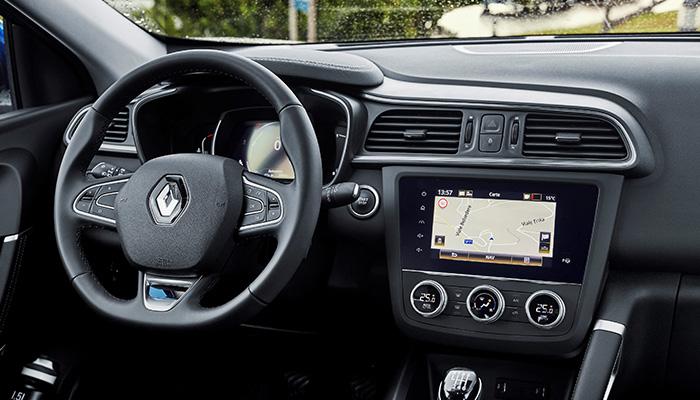 Renault Kadjar iç mekan