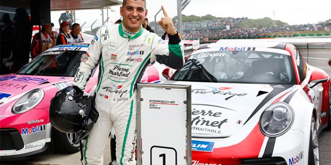 Ayhancan Güven, Porsche Mobil1 Supercup