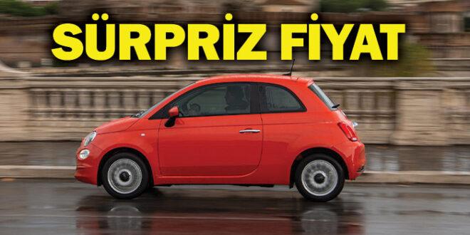 Fiat'ın ikonik modeli Fiat 500 Hibrit